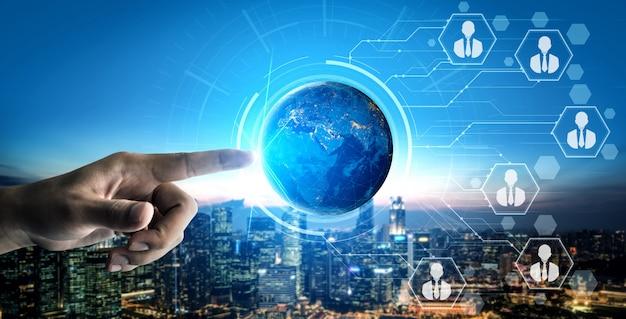 Rede de pessoas e conceito de comunicação global