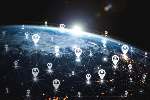 Rede de pessoas e conexão global com a terra na percepção inovadora