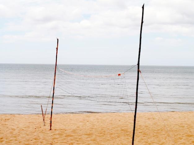 Rede de vôlei na praia, conceitos de esportes