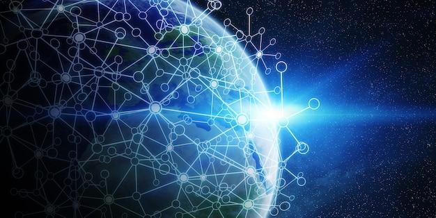 Rede global e troca de dados pelo mundo