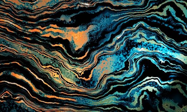 Redemoinhos de mármore e ondulações de pedra. fundo