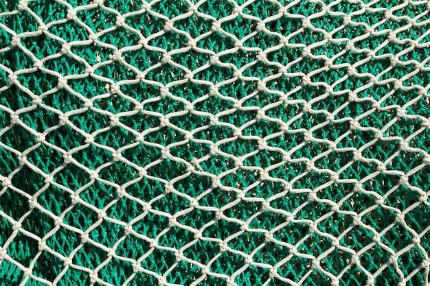 Redes de pesca e enfrentar no porto de andratx de maiorca