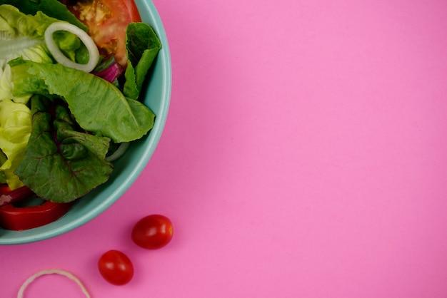 Refeição nutritiva de dieta saudável salada de vegetais vegetariana vegana fotografia de alimentos naturezas mortas