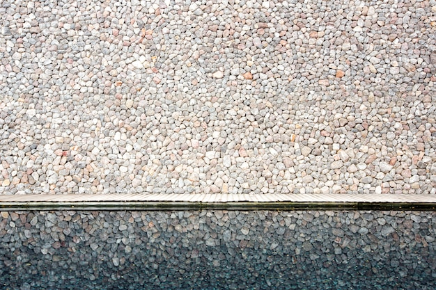 Reflexão da parede de tijolo