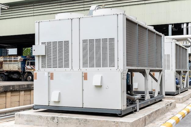 Refrigeradores de água para processos de produção na planta da indústria
