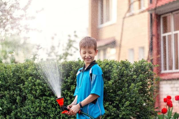 Rega infantil plantas perto de casa