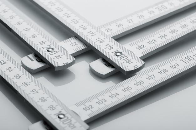 Régua métrica