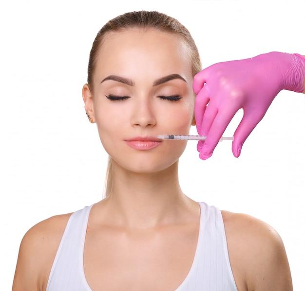 Rejuvenescer injeções faciais