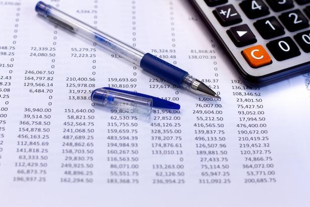 Relatório de documentos financeiros contábeis