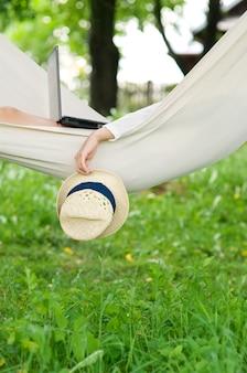 Relaxando na rede