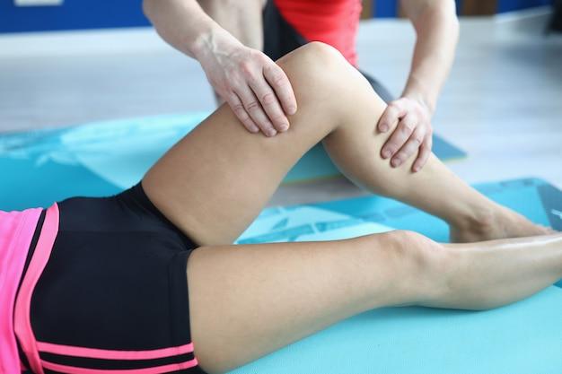 Relaxe e desbloqueie os músculos