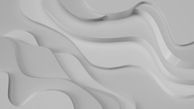 Relevo cinzento elegante. abstrato topográfico. design fluido bonito.