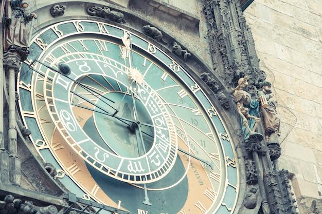 Relógio atroncônico em praga