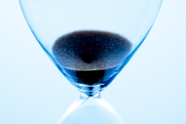 Relógio de areia, gerenciamento de tempo de negócios