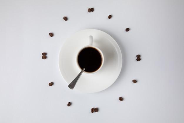 Relógio de café forte