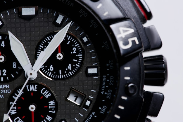 Relógio de negócios de pulso moderno elegante