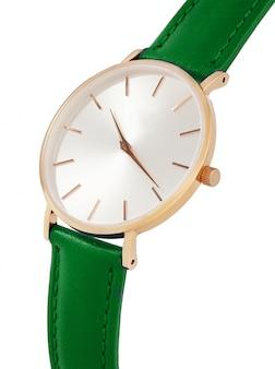 Relógio de ouro clássico para mulher