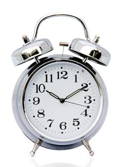 Relógio de um fundo branco