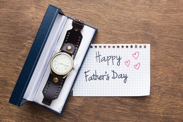 Relógio presente para o dia dos pais