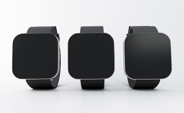 Relógios 3d inteligentes