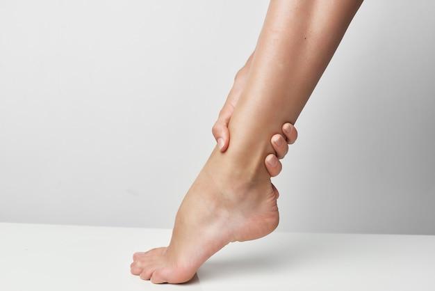 Remédios para ferimentos nos pés fecham os problemas de saúde
