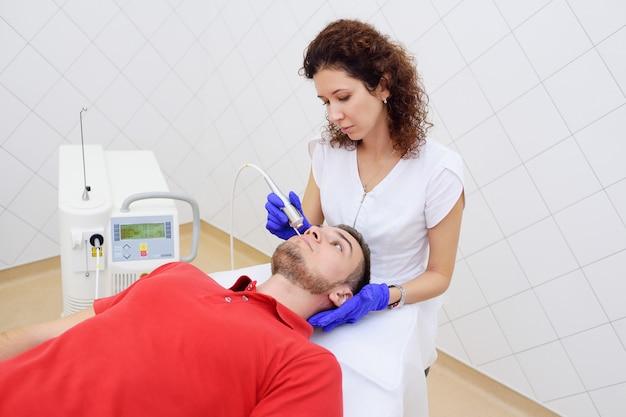 Remoção a laser da pigmentação da pele