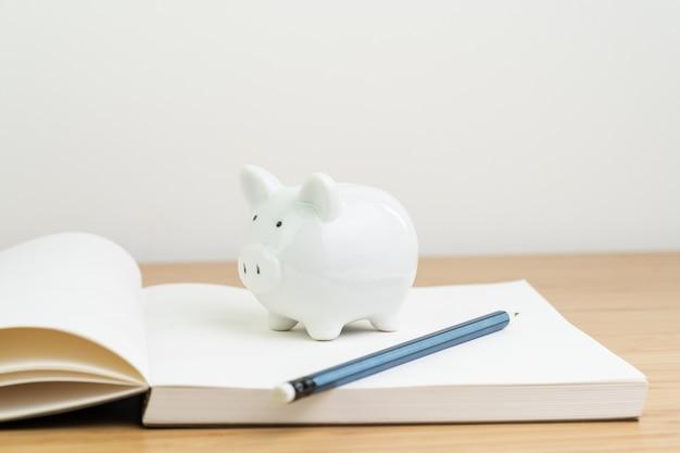 Renda, imposto, poupança, planejamento de finanças pessoais ou conceito de investimento