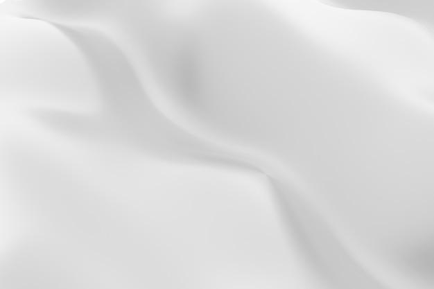 Renderização 3d abstrato branco e cinza curva fundo