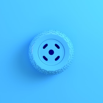 Renderização 3d da roda do carro