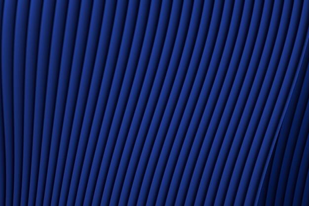 Renderização 3d de arquitetura abstrata de ondas de parede