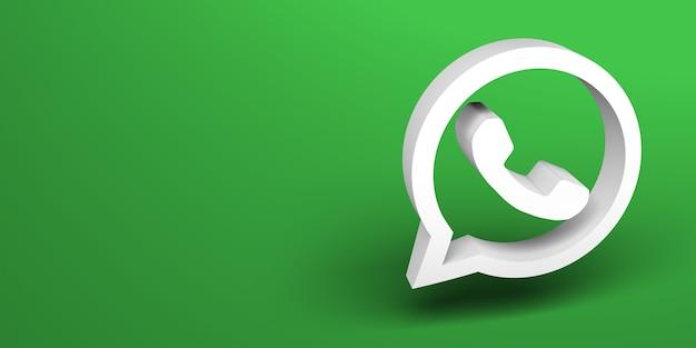 Renderização 3d de mídia social