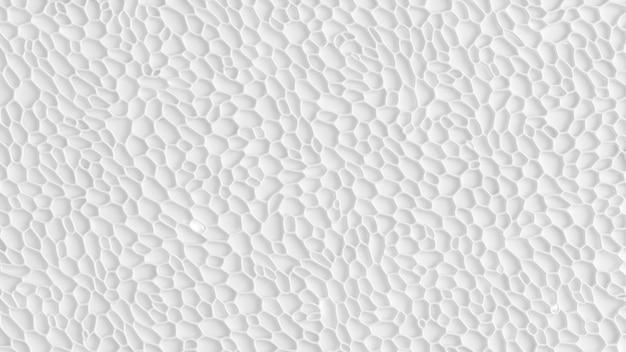 Renderização 3d de plano de fundo texturizado branco