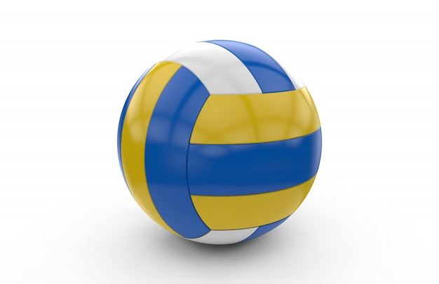 Renderização 3d de uma bola de vôlei