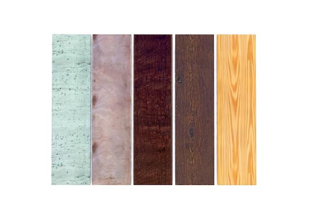 Renderização 3d do conjunto de ladrilhos de piso de madeira de pinho