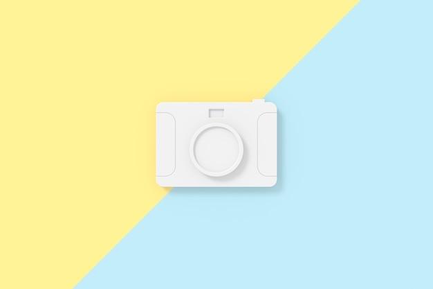 Renderização 3d do modelo da câmera.
