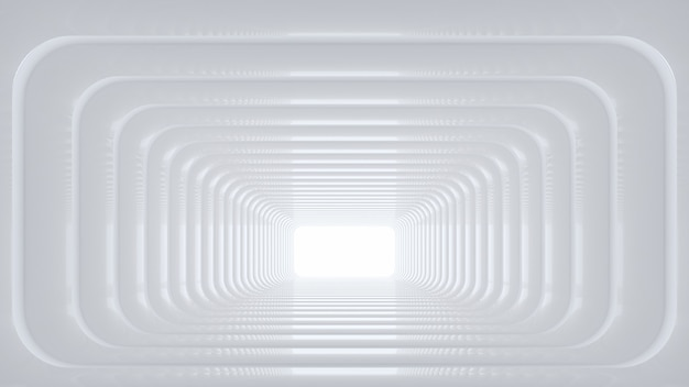 Renderização 3d do suporte de produto em branco