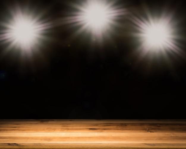 Renderização 3d em branco com flash brilhante