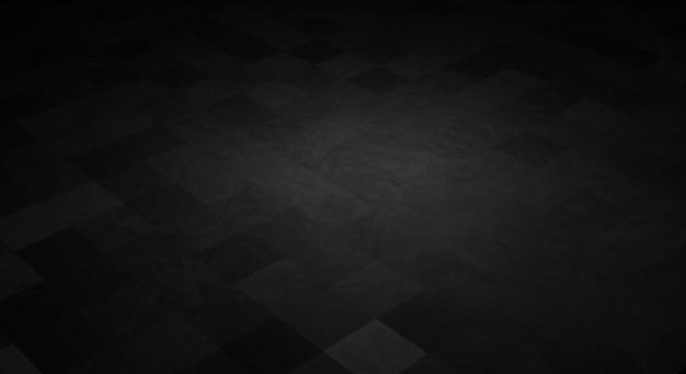 Renderização 3d em preto escuro papel de parede