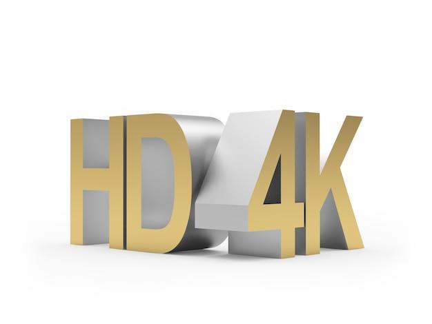 Renderização 3d metálica hd 4k