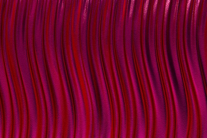 Renderização 3d, pano de fundo abstrato vermelho luxo
