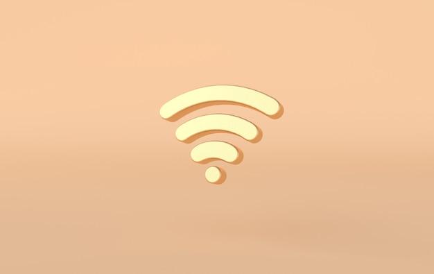 Renderização de ícone de wifi