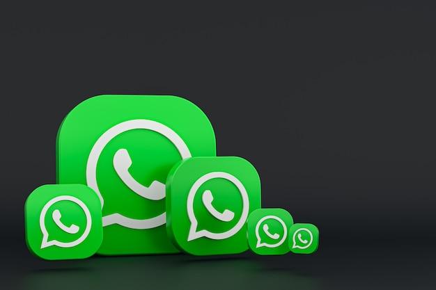 Renderização do ícone do logotipo do whatsapp