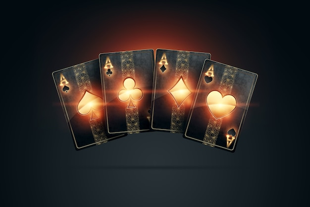 Renderização em 3d de jogos de azar online