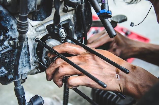 Reparação de motocicletas