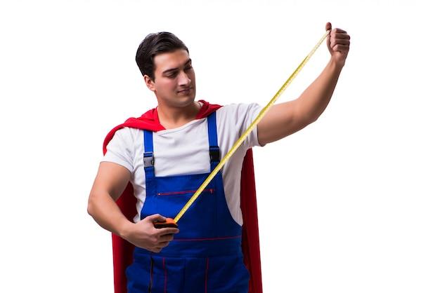 Reparador de super herói isolado