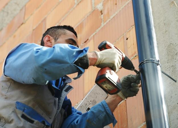Reparador de telhado de calha