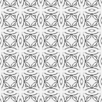 Repetindo a borda desenhada mão listrada. preto e branco visivelmente boho chique design de verão. têxtil pronto com impressão graciosa, tecido de biquíni, papel de parede, embrulho. desenho listrado desenhado à mão.