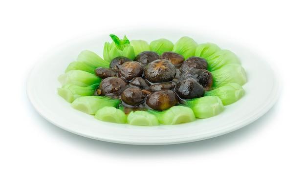 Repolho chinês com molho de ostra (bok choy)