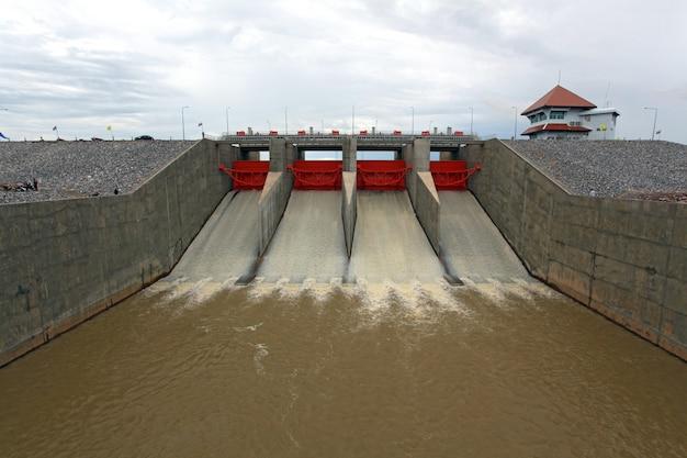 Represa do portão de água