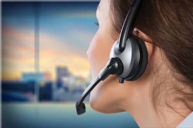 Representante de atendimento ao cliente, serviço, telefone.